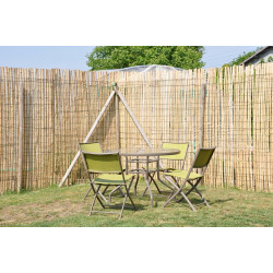 Fence & bamboo guard width 200cm x 3.5cm