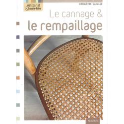 Livre Le Cannage & le Rempaillage( Edition Fleurus )