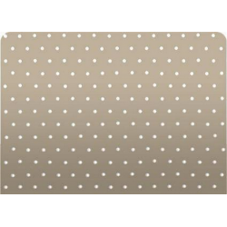 Micro Perforated Aluminum Blind 25mm,  Taupe