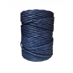 Blue Paper Yarn Ø 4.5-5mm