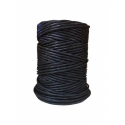 Black Paper Yarn  Ø 4.5-5mm