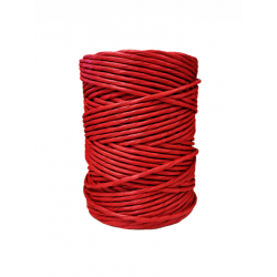 Red Paper Yarn  Ø 4.5-5mm