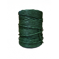 Green Paper Yarn  Ø 4.5-5mm