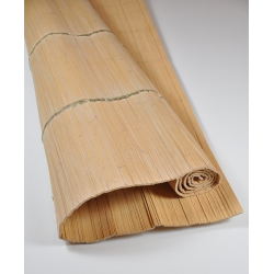 Natte Bambou Déroulé Asia avec Noeud